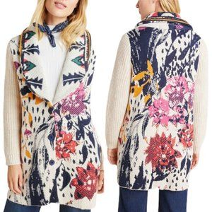ANTHROPOLOGIE Maritza Aldomartins Sweater Coat